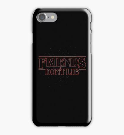 FRIENDS DON'T LIE iPhone Case/Skin