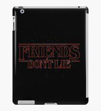 FRIENDS DON'T LIE iPad Case/Skin