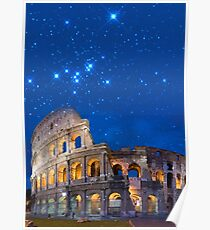Colosseum in Rome, Italy Poster