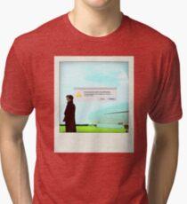 Sherlock polaroid Tri-blend T-Shirt