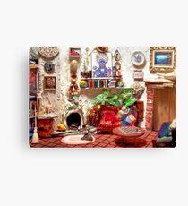 La Casita (Little House) /Scene from a Miniature) Canvas Print