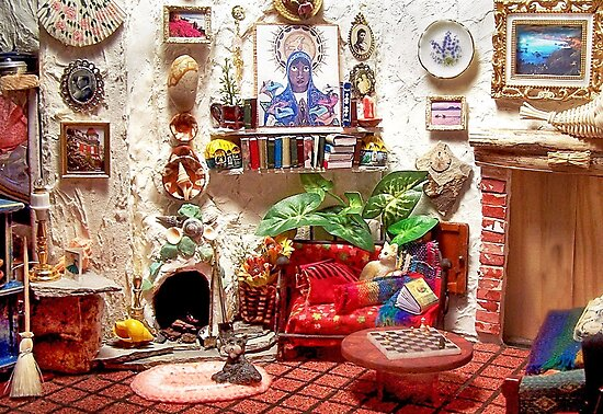 La Casita (Little House) /Scene from a Miniature) by Nadya Johnson