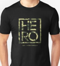 HERO GREEN CAMO SQUARE Unisex T-Shirt