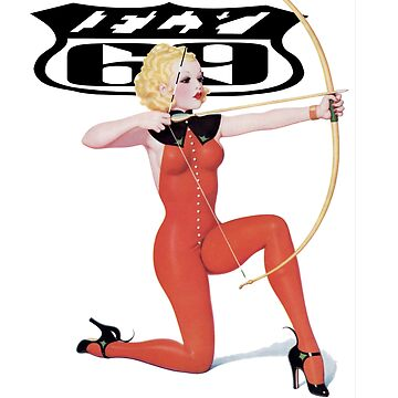FLY69 Pinup Girl with Bow & Arrow by Deadscan