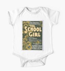 Performing Arts Posters F Ray Comstock offers the delightful musical success The school girl music by Leslie Stuart composer of Florodora book by Henry Hamilton 1407 One Piece - Short Sleeve
