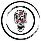 Halo'd Skull by Jesse Marofke