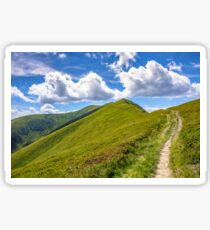 path to the mountain top Sticker