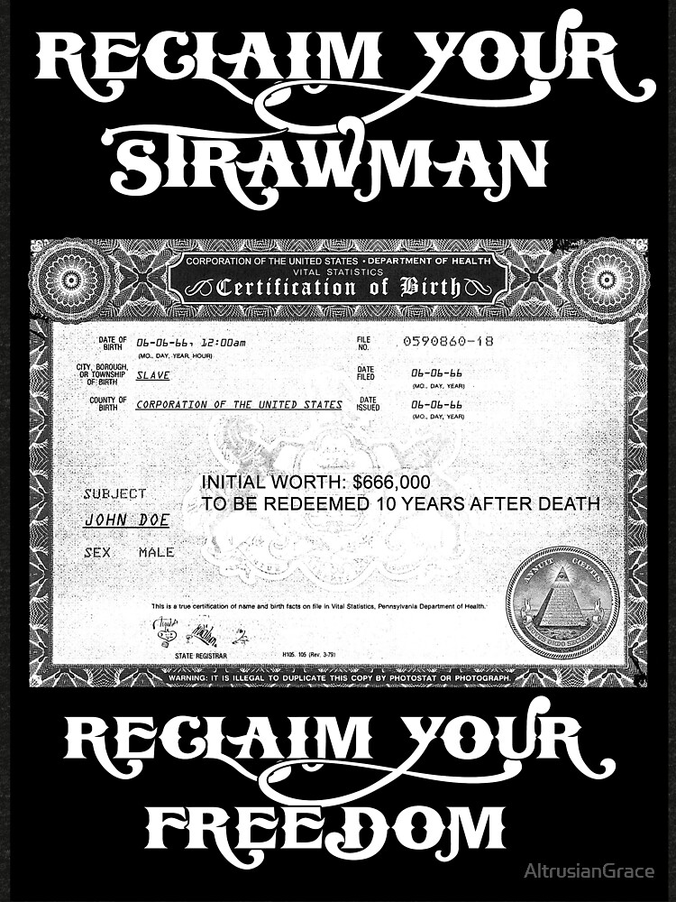 Reclaim Your Strawman Tri Blend T Shirt By Altrusiangrace Redbubble