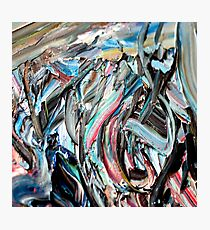 RGB Marble Painting Photographic Print