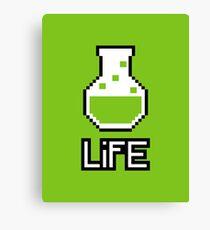 Life Potion Canvas Print