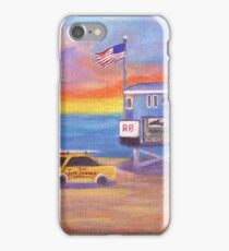 Redondo Beach Lifeguard Tower iPhone Case/Skin