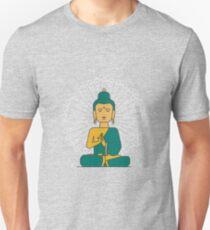 meditating buddha   Unisex T-Shirt
