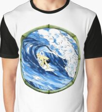 Surfing The Pipe Graphic T-Shirt