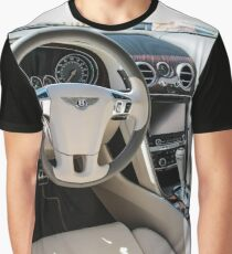 Interior of a 2014 Bentley Flying Spur Graphic T-Shirt
