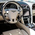 Interior of a 2014 Bentley Flying Spur by Chris L Smith