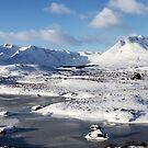 Black Mount Winter Panorama by Grant Glendinning