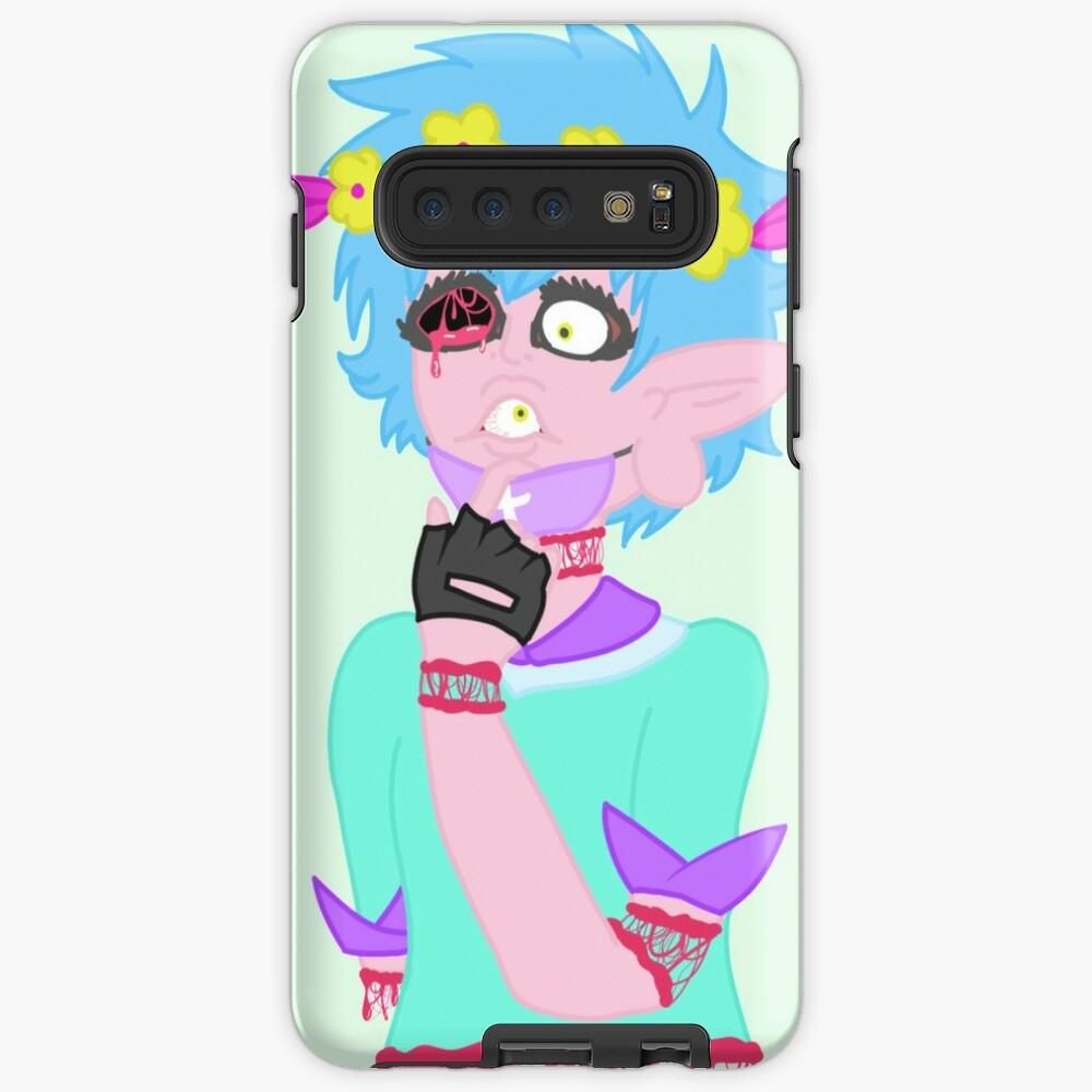 Eyeball Guro Anime Case Skin For Samsung Galaxy By Dweebcake Redbubble