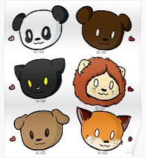 Animal Babies Poster
