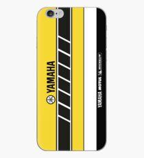 Team Yamaha Black and Yellow iPhone Case