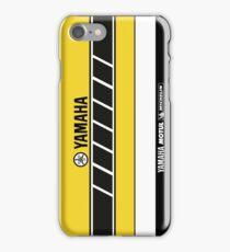 Team Yamaha Black and Yellow iPhone Case/Skin