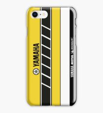 Team Yamaha Black and Yellow iPhone Case/Skin