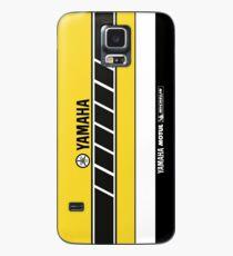 Team Yamaha Black and Yellow Case/Skin for Samsung Galaxy