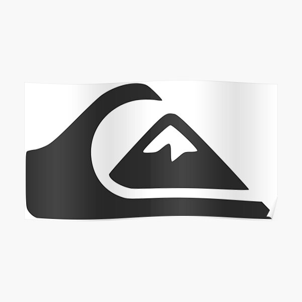 Quiksilver Wave & Mountain Edition (Official Dark Grey Color) - Useless Madala Poster