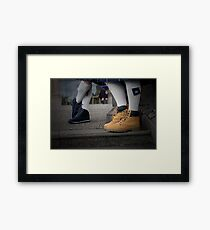 Smart Casual. Framed Print