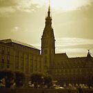 Hamburg city -tiltshift (3) by OLIVER W
