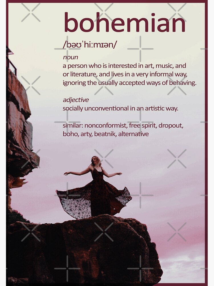 Bohemian Definition by a-golden-spiral