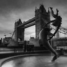 Black and White Bridge by Ursula Rodgers Photography