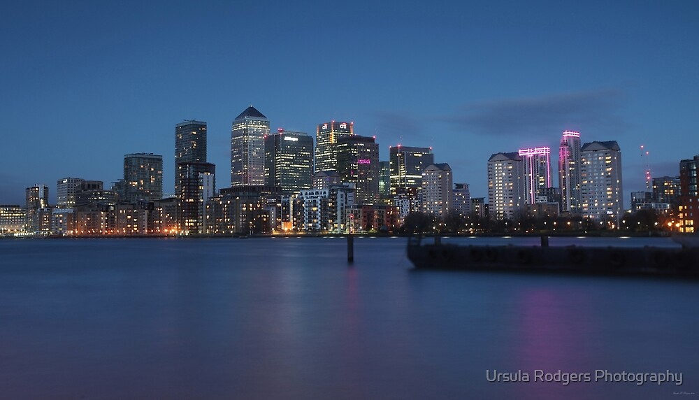Canary Wharf by Ursula Rodgers Photography