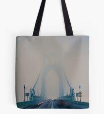 St. Johns Bridge Fog Tote Bag