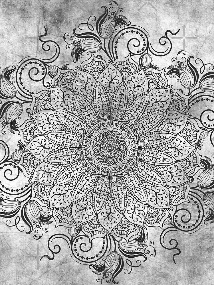 Mandala - Ashes by aleibanez