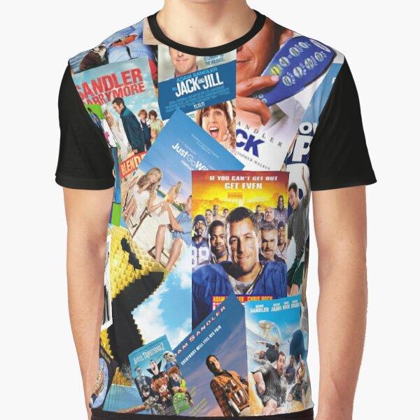 adam sandler collage Graphic T-Shirt
