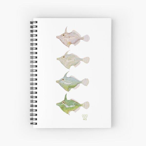 Fringed Filefish Spiral Notebook