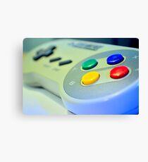 SNES Game Pad Canvas Print