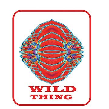 WILD THING. Symbolic Clothes, Prints, & Stickers. by sunnypicsoz