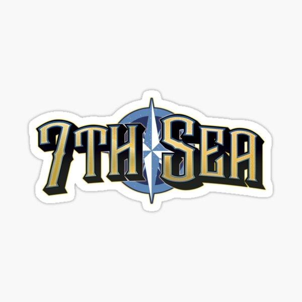 7th Sea Logo Sticker