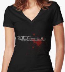 Hellsing Women's Fitted V-Neck T-Shirt