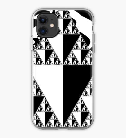 Mono Sierpinski Blog10 iPhone Case