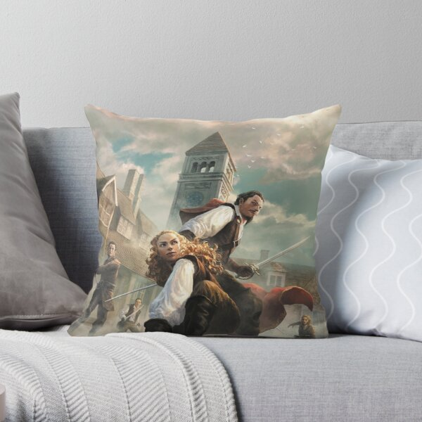Core Rulebook: Cover Throw Pillow