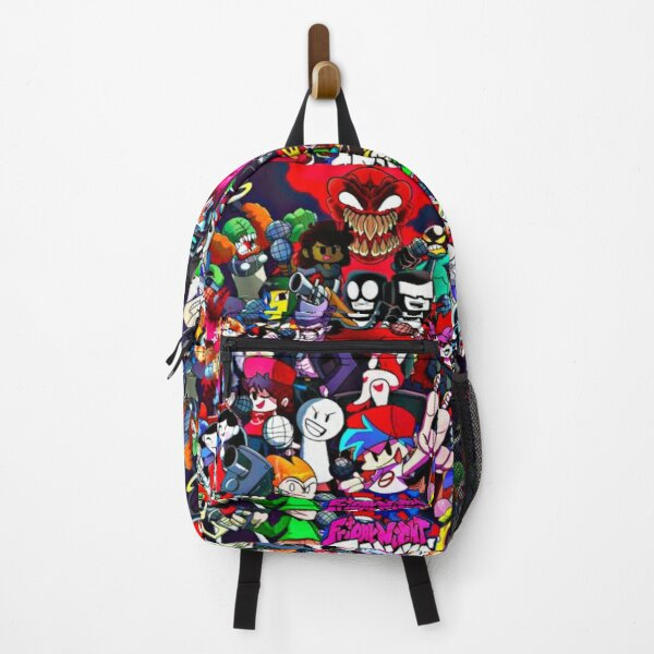 Friday Night Funkin Characters fnf game Backpack