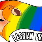 Pride Lions: Lesbian (V1) by Nicholas King