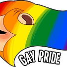 Pride Lions: Gay by Nicholas King
