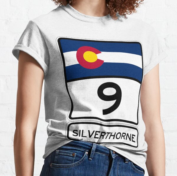 CO-9 Silverthorne Colorado - the gateway to Summit County Classic T-Shirt