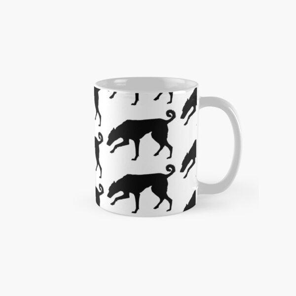 Cretan Hound Silhouette Classic Mug