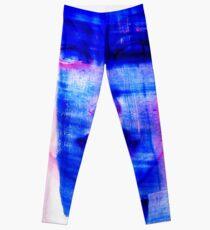 blue woman Leggings