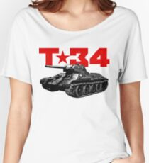 T-34 Women's Relaxed Fit T-Shirt