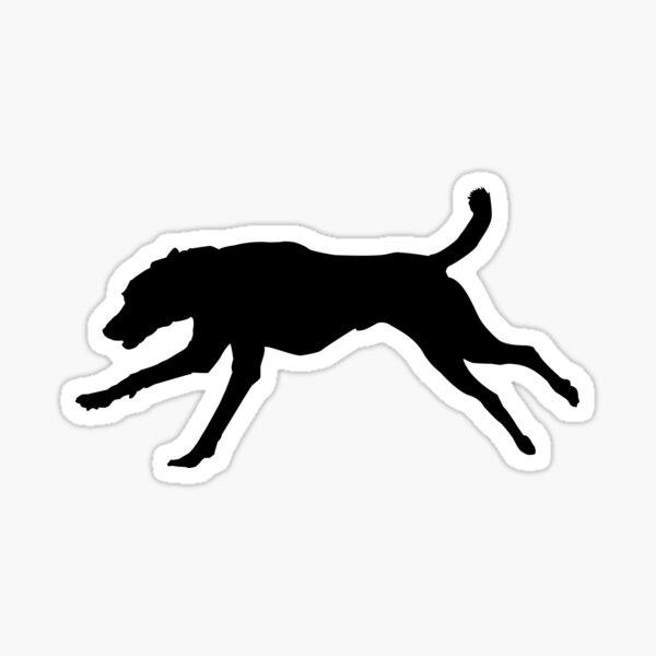 Running Dog Cretan Hound Sticker